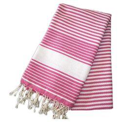 Fouta Honeycomb Weave Stripe Hand Towel