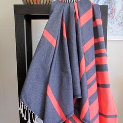 Striped Fouta Towel