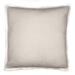 Augusta Pinstripe Cotton Throw Pillow
