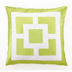 Palm Springs Blocks Throw Pillow