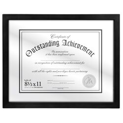 Document Float Picture Frame