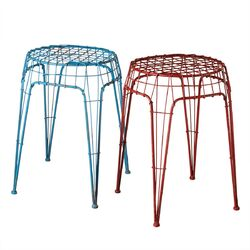 Wire Stool (Set of 2)