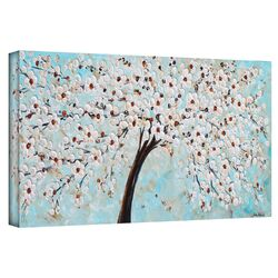'Blossoms' by Jolina Anthony Gallery-Wrapped Canvas Art