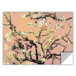 ArtApeelz 'Eggshell Almond Blossom' by Vincent Van Gogh Graphic Art