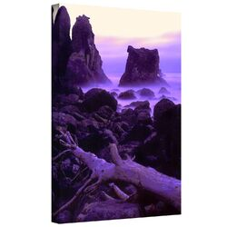 'Patricks Point Twilight' by Dean Uhlinger Gallery-Wrapped Canvas Art