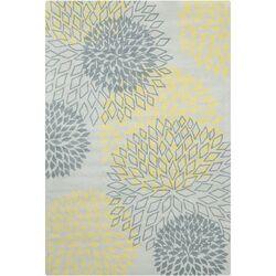 Cinzia Grey Floral Rug