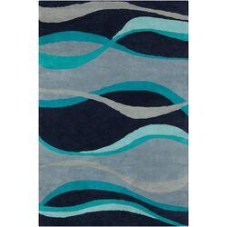 Cinzia Blue Abstract Rug