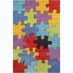 Cinzia Jigsaw Puzzle Area Rug