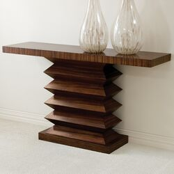 Zig Zag Console Table