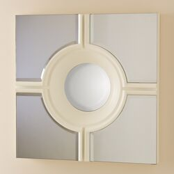 Bull's Eye Cross Mirror