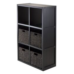 Timothy 3 x 2 Cube Shelf with Baskets