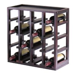 Kingston 16 Bottle Wine Rack