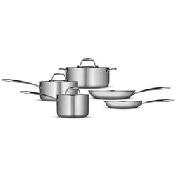 Gourmet 18/10 Stainless Steel Induction-Ready 8-Piece Cookware Set by Tramontina