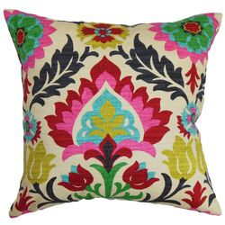 Tahsis Floral Throw Pillow