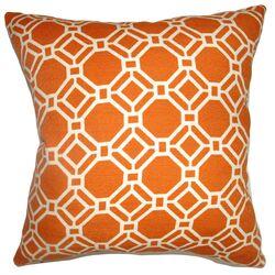Cadena Chain Link Cotton Pillow
