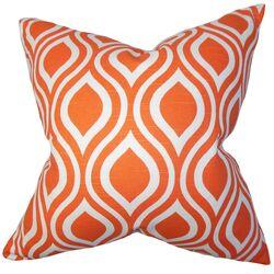 Larch Cotton Throw Pillow