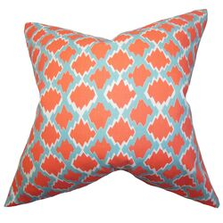 Welcome Geometric Throw Pillow
