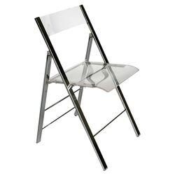 Macbeth Acrylic Foldable Side Chair