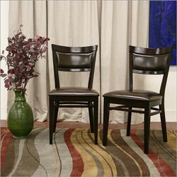 Baxton Studio Serena Side Chair (Set of 2)