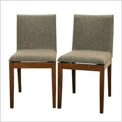 Baxton Studio Square Parsons Chair (Set of 2)