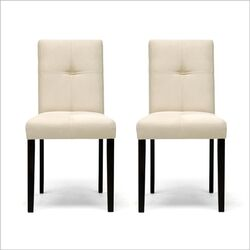 Baxton Studio Elsa Parsons Chair (Set of 2)