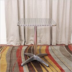 Baxton Studio Inox Dining Table