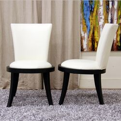 Baxton Studio Neptune Side Chair (Set of 2)