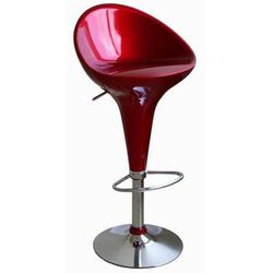Lucilius Adjustable Height Swivel Bar Stool