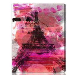 ''Wild Paris'' Graphic Art on Canvas