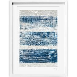Trails from the Blue Framed Painting Print