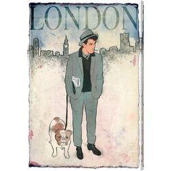 Esquire Gentleman II Graphic Art on Canvas
