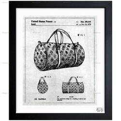 Handbag 1978 Framed Graphic Art