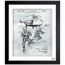 Buoyant Bulletproof Combat Uniform 1968 #2 Framed Graphic Art