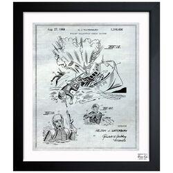 Buoyant Bulletproof Combat Uniform 1968 #4 Framed Painting Print