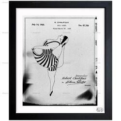 Doll Label 1925 Framed Graphic Art
