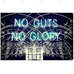 No Guts No Glory Graphic Art on Canvas