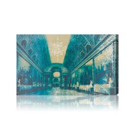''Gallery of Battles Versailles Blue'' Canvas Art Print