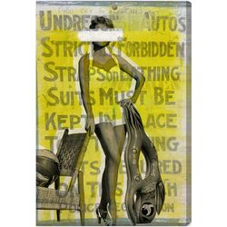 Bathing Beauty Graphic Art on Canvas