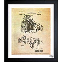 Bing Polaroid Camera Accessory 1966 Framed Graphic Art
