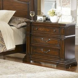 Regency 3 Drawer Nightstand