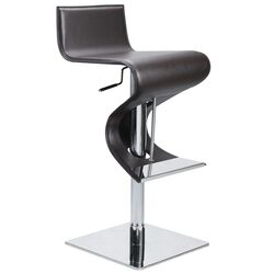 Portland Adjustable Bar Stool in Brown