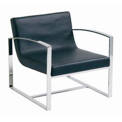 Corbin Lounge Chair in Black
