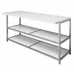 Bianco Bar Table in White