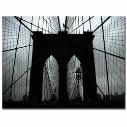 Brooklyn Bridge by Tammy Davison Photographic Print on Canvas