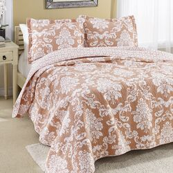 Venetia Reversible Cotton Quilt
