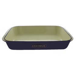 Cast Iron Rectangle Large Gratin Dish