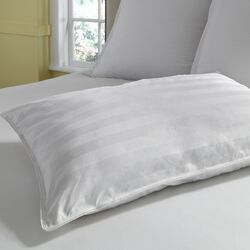 Luxury Resort 1000 Thread Count 100% Cotton Damask Stripe Pillow