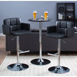 Gridley Ridge Adjustable Height Airlift Bar Stool