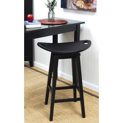 Asheville Swivel Bar Stool in Antique Black