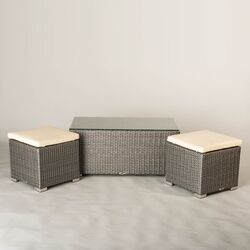 Hollywood Outdoor 3 Piece Seating Group